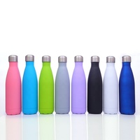 Multicolor stainless steel thermos flask outdoor sports kettle bowling Coke Bottle Coke Cup