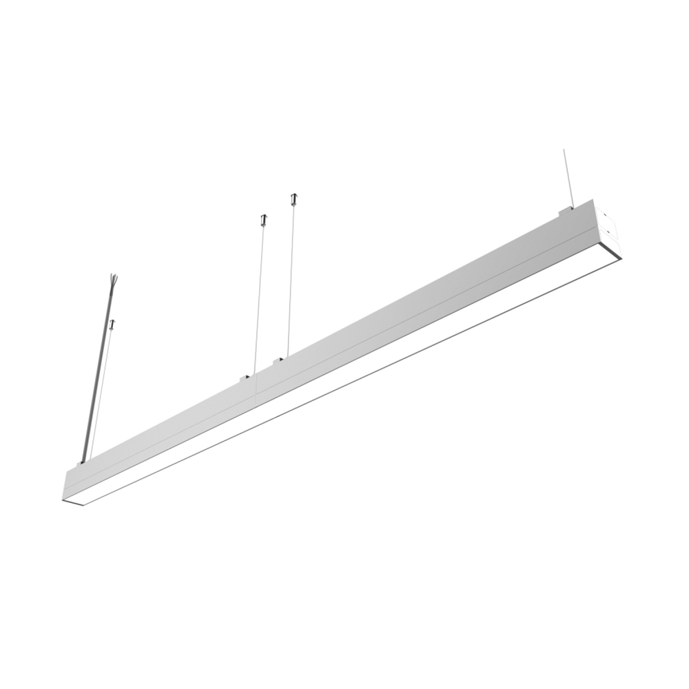 CE ROHS Pendant Led Linear Seamless Lighting For Indoor Office Supermarket Stadium