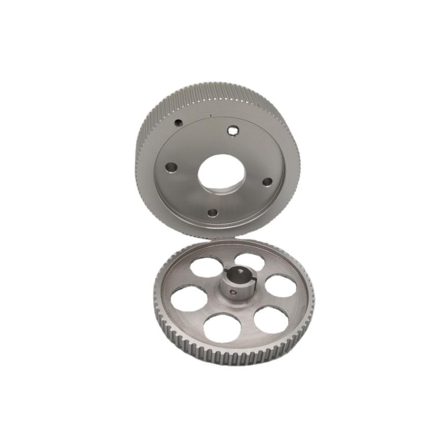 OEM aluminium timing gürtel kettenrad synchrone pulley