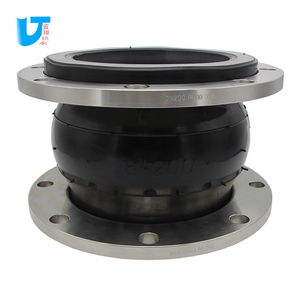 SS316L flange DN200 flexible rubber pipe joint High pressure flexible rubber connection