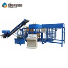 Hydraulic pressure block making machinery QT4-15 concrete brick block making machine price