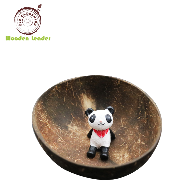 Fancy Wholesale Natural Coconut Pet Bowl Dog(NO LOGO)