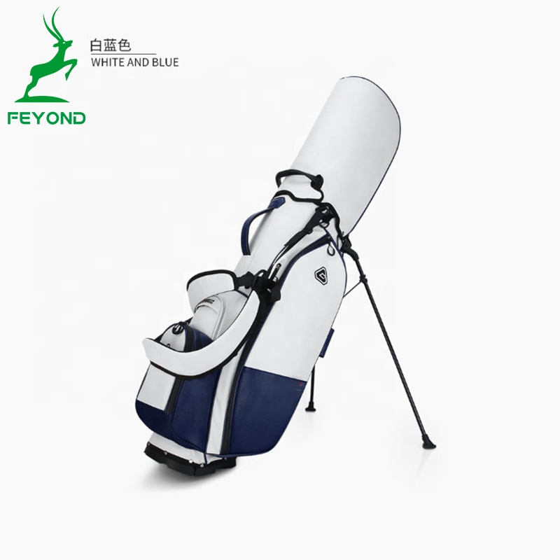Nouvelle conception Broderie logo 14 diviseurs Support de Golf Sac pour sac de golf