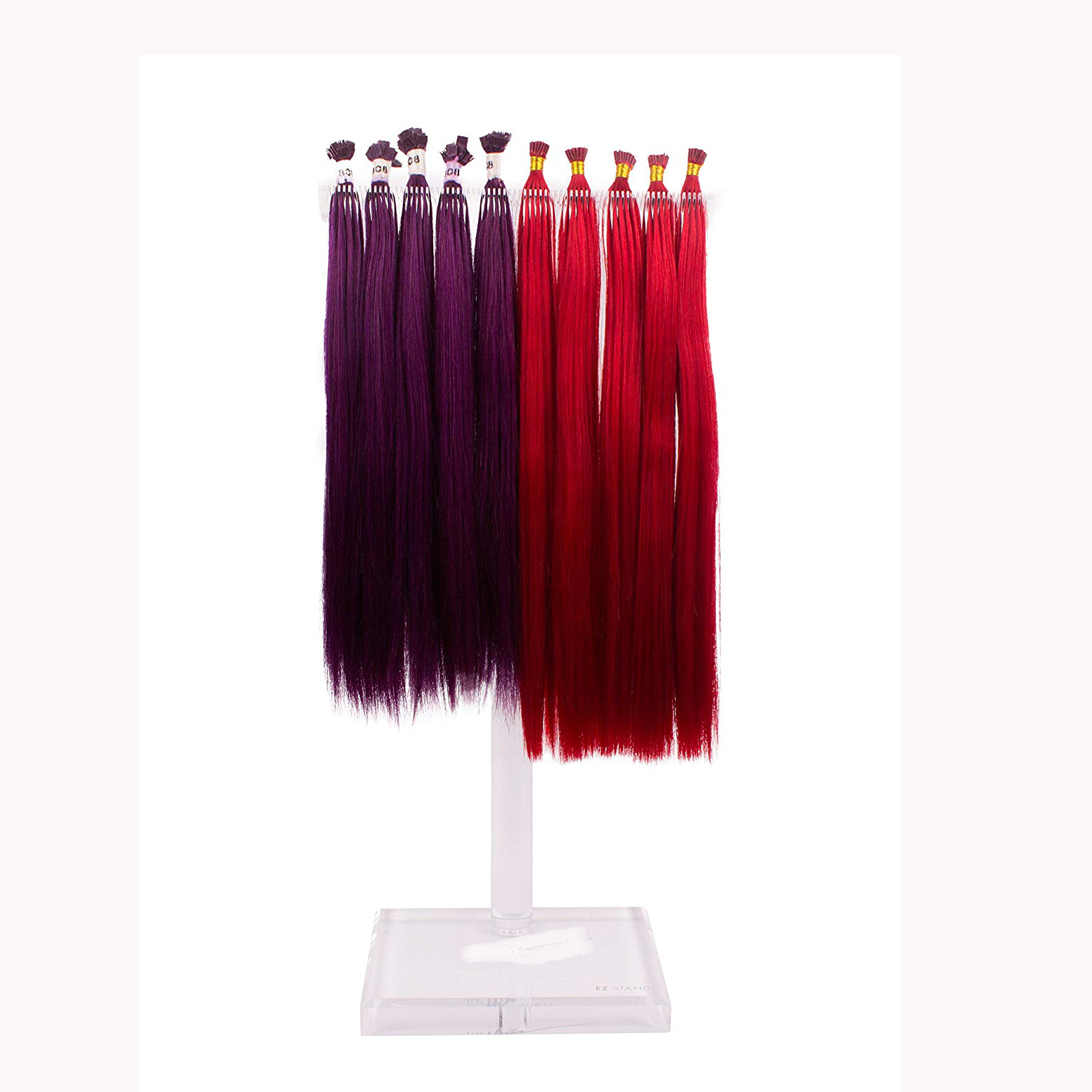 VONVIK Hot New Products Hair Extension Display Shelf Hair Extensions Wall Display Hair Extension Display Stand