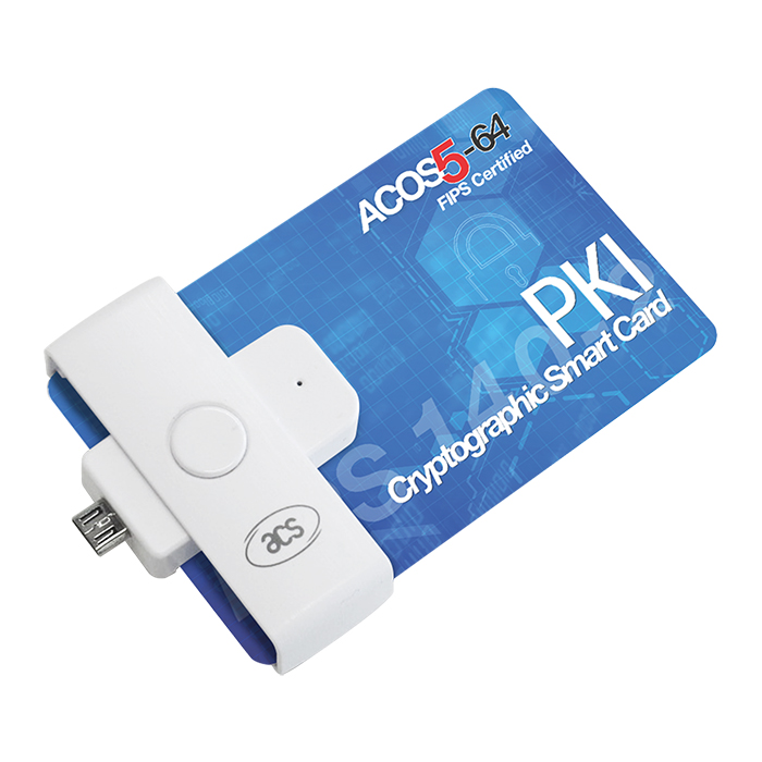 ACR39U-ND II (Micro-USB) Smart Card Reader for contact card
