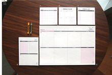60 страниц креативные простые офисные школьные принадлежности, канцелярские принадлежности, записная книжка, записная книжка, еженедельный...(Китай)