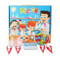 2020 New Kids Pretend Play Science Microbes Lab Experiment Education Toy