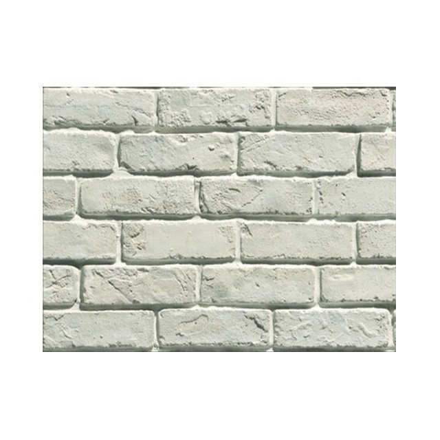 White Brick Wall Tile