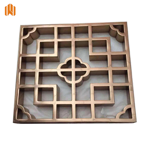 wholesale laser cut outdoor metal privacy screen decorative metal chain curtain lowes metal fireplace screen