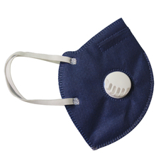 Wegwerp 3D Vouw Stof <span class=keywords><strong>KN95</strong></span> Stofmasker Met Ventiel Non Woven Actieve Carbon Anti Vervuiling Respirator Maskers