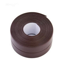 Самоклеящиеся обои для кухни DIY, водостойкая белая клейкая лента, герметичный герметик, самоклеящаяся лента из ПВХ для декора стен(Китай)