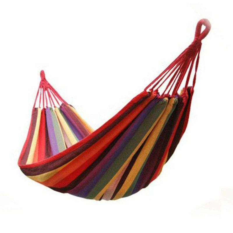 portable cotton double person swing bed for bedroom