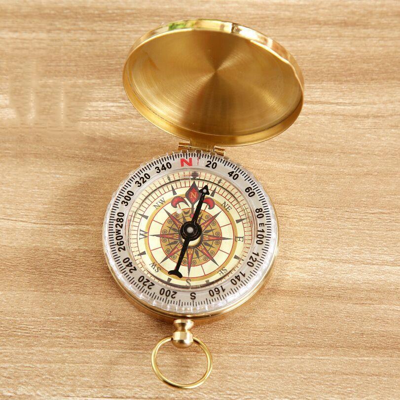 Maritime Messing antik Objektiv Kompass Vintage nautische Directiononal Kompass