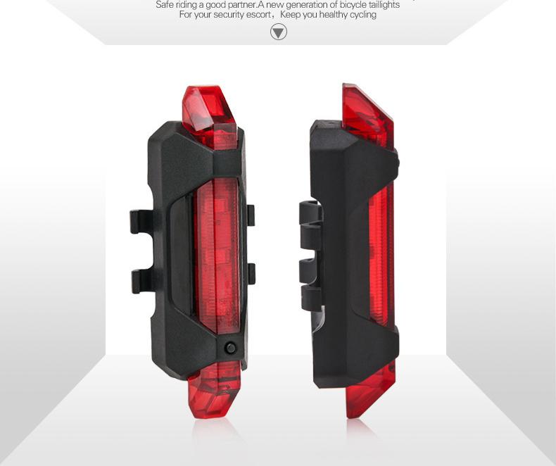 低価格良質自転車usb信号テールライトセット、サイクル、安いカラフルな自転車アクセサリーリアledライト