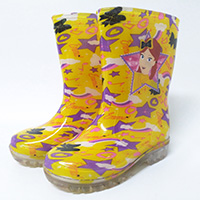 SOCCER AND FOOTBALL print rubber rainboots wellington boots rain boots wholesale