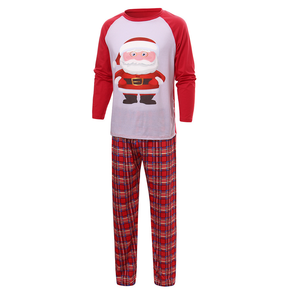 Wholesale 2020 red and green & white striped Christmas Halloween holiday matching family christmas pajamas
