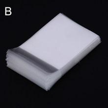 100 шт, 6,6 см/6 см X 9 см, матовые рукава для карт, протектор для торговых карт, защитный чехол для волшебных карт, прозрачный держатель для карты(Китай)