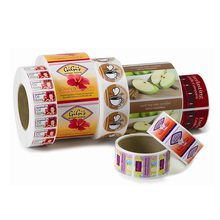 Custom-Made Private Label Makanan Printer untuk Food Grade Bakery Roti Paket Label Stiker