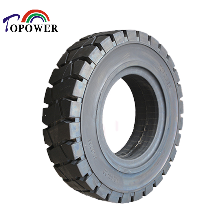 solid rubber <strong>tire</strong> 10.00-20 for blender mixer and trailer