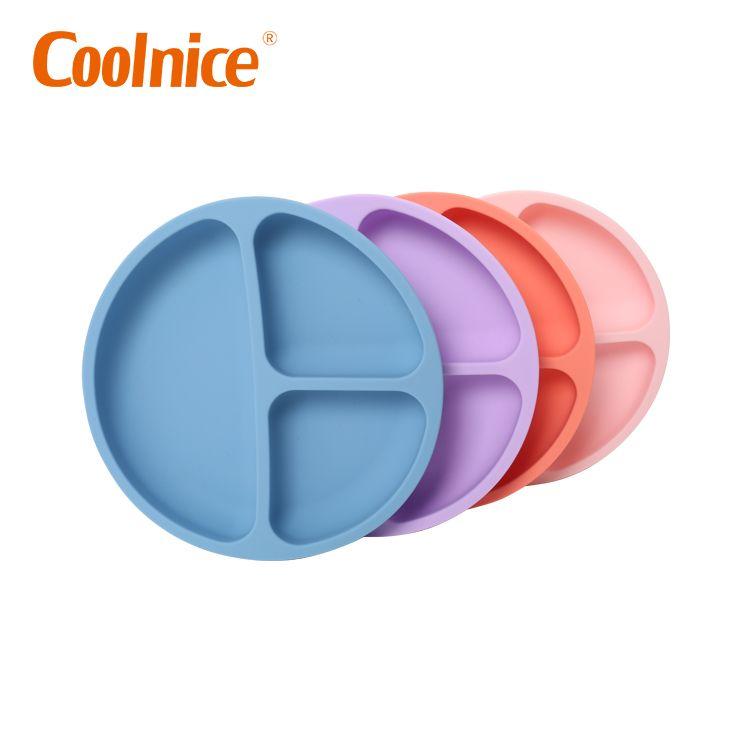 Детская силиконовая чаша безопасности Экологичная детская силиконовая чаша для кормления
