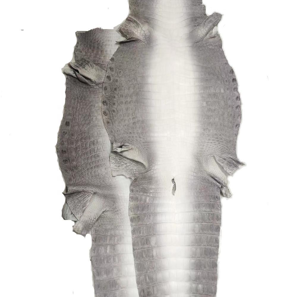 Lederen Krokodillenleer Himalaya Kleur Nijl Krokodil Krokodil Open Back Buik Huid Voor Bolsos Piel Cocodrilo
