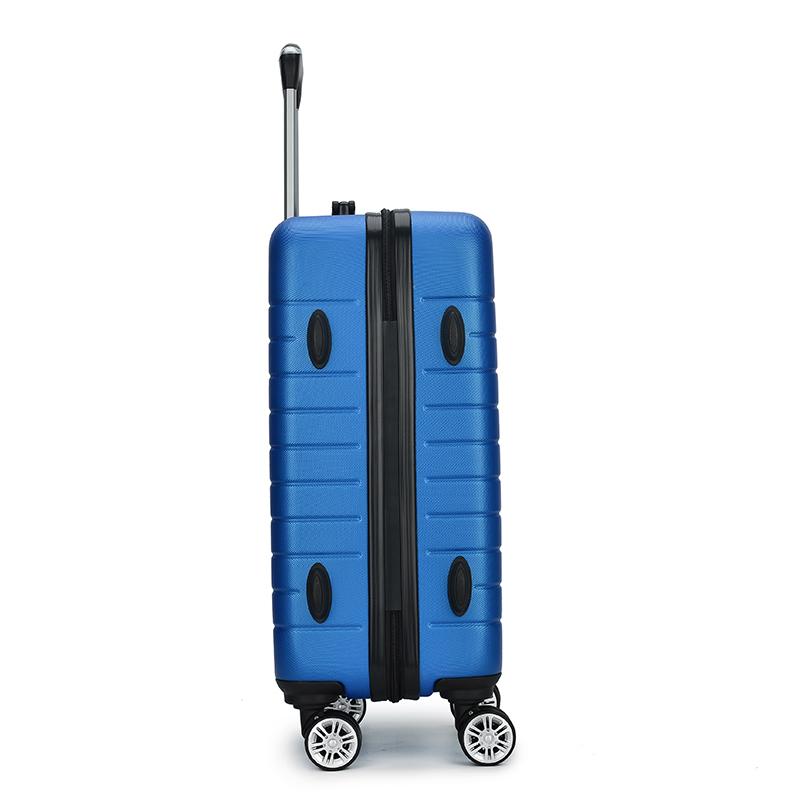 आउटडोर हल्के हार्ड प्रकरण abs सूटकेस पहियों के साथ, सूटकेस उपहार बॉक्स