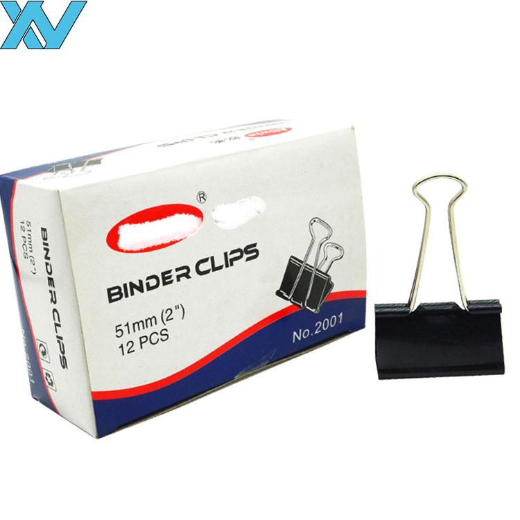 foldback binder clips large black binder paper clip 51mm