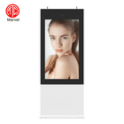 Online Support Lcd Screen Advertising Display Outdoor Waterproof Tv Totems 55 Inch Lcd Screen Floor Stand Digital Signage Advertising Display