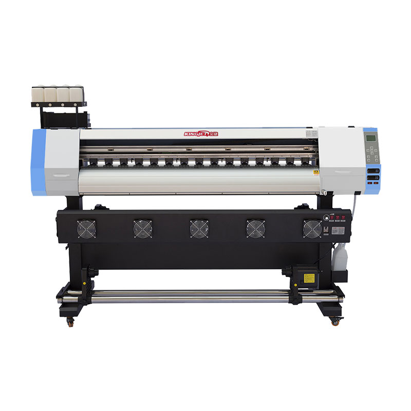 KINGJET 1.6m 1.8m ecosolvent printer xp600 print head eco solvent printer