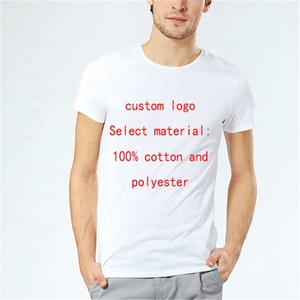 Wholesale custom polyester sublimation t shirts for marathon