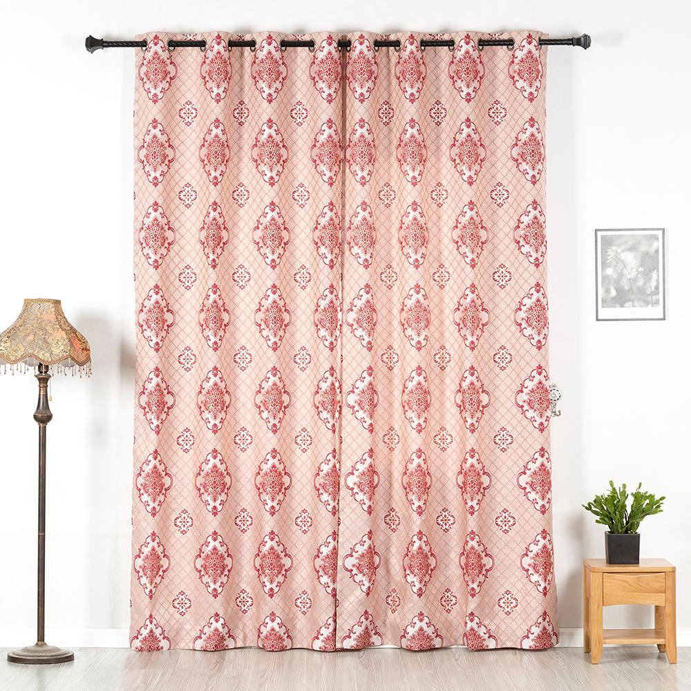 curtain jacquard,2 Pieces, 4 colors