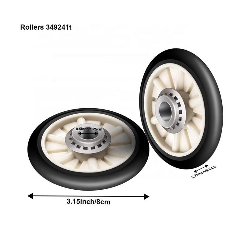 4392065 Dryer Repair Kit Include Belt 341241, Idler 691366, Rollers 349241T