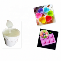Translucent platinum cured silicone rubber RTV-2 liquid silicone rubber for food grade molds making