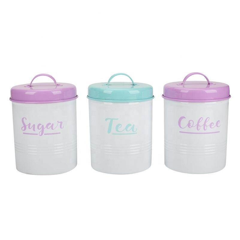 Wilko Storage Jars Tea Sugar Coffee Metal Storage Jars Buy Metal Storage Jarstea Sugar Coffee Metal Storage Jarstea Sugar Coffee Jars And