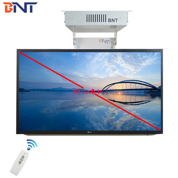 Living Room Popular Motorized Ceiling TV Mounted Flip Down Lift with Remote Control