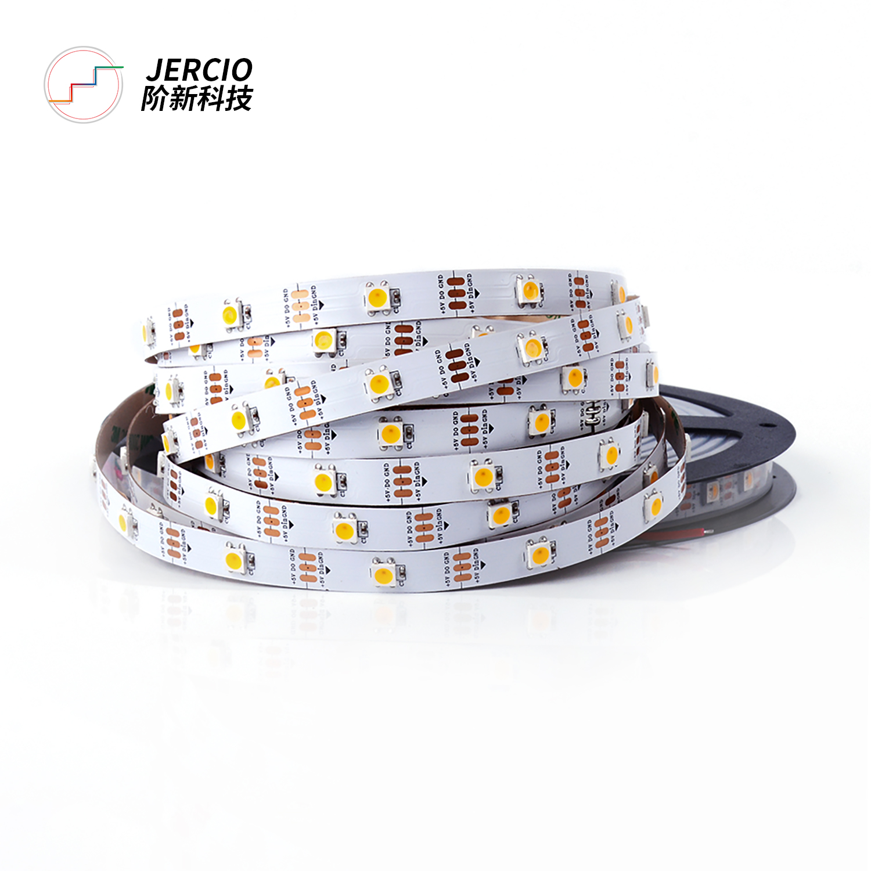 Jercio SK6812 / WS2812 / XT1511-W DC5V Waterproof  high brightness warm natural cool white outdoor digital LED Strip