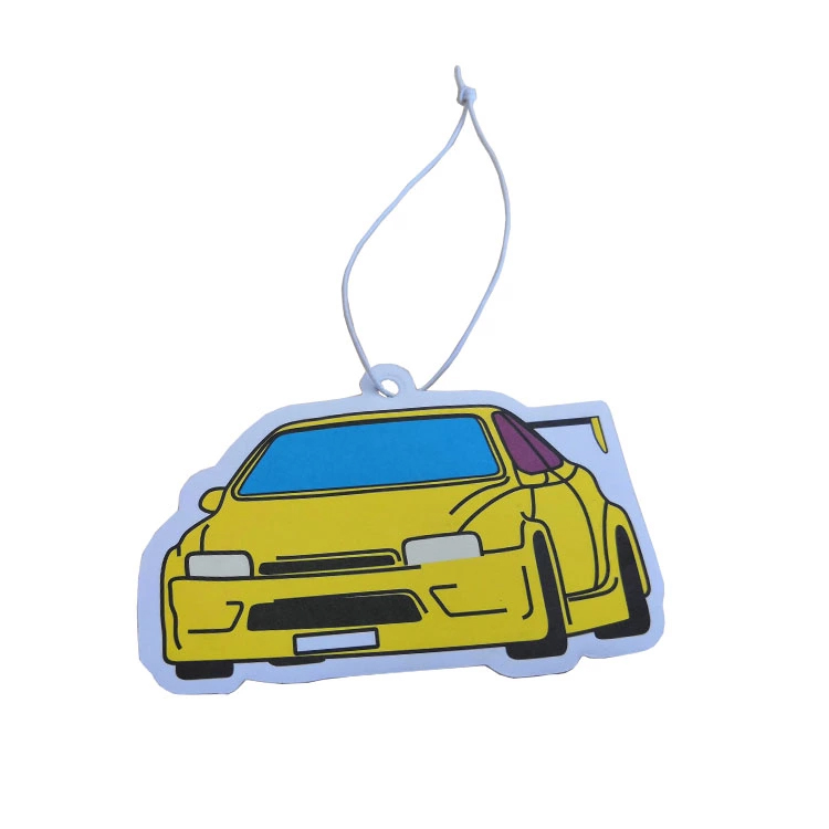 Custom design various shape Car Paper air freshener/scent/perfume