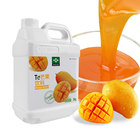 Mango juice concentrated fruit flavor drink concentrated pulp mango juice milk tea raw materials