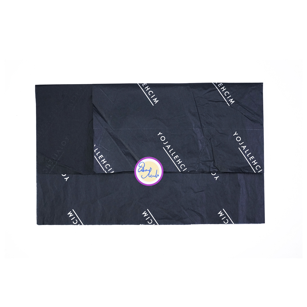 Custom White silk <strong>paper</strong> with black logo / black logo on white <strong>tissue</strong> <strong>paper</strong> / black gift <strong>christmas</strong> <strong>tissue</strong> <strong>paper</strong>