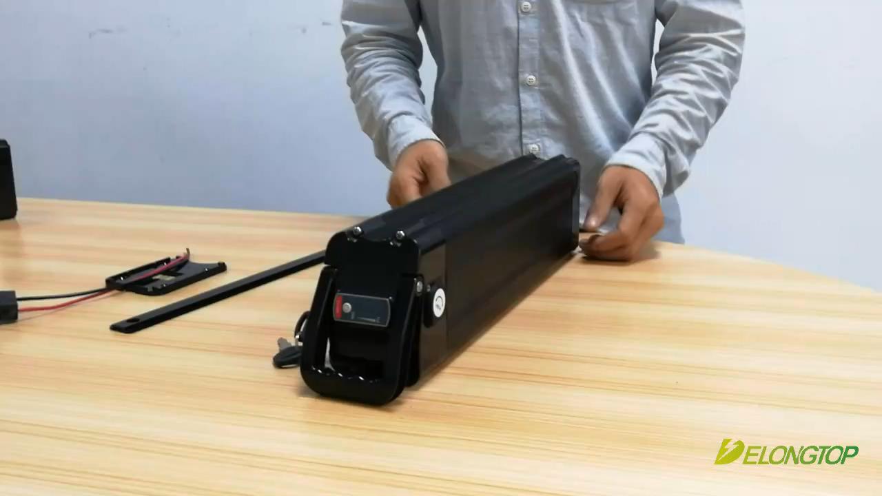 Фара для электровелосипеда в батарея 48В 17.5AH Электрический велосипед литий-ионный аккумулятор, пригодный мотор для 48V 1000W ElectricMountain велосипед