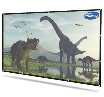 "Future Screen High Quality portable foldable simple 244cm*244cm (96"" Square Ratio) Projection Screen Suitable For unfixed place"