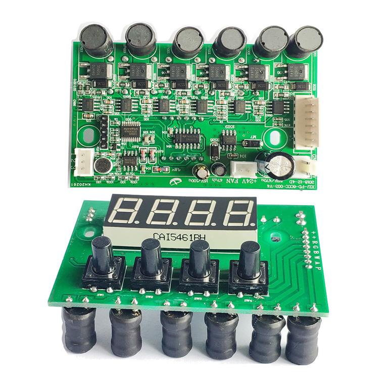 LED lights dmx512 pcb cheap price dj light spare parts motherboard for sova par light