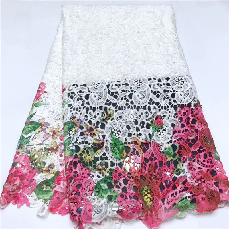 Beautifical wholesale guipure <strong>lace</strong> fabric cord <strong>lace</strong> fabric <strong>dubai</strong> flower guipure white <strong>lace</strong> ML5G179