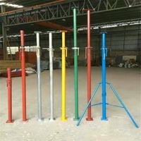 Heavy Duty Scaffolding Adjustable Puntales Acrow Post Shoring Steel Props