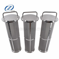 "Stainless steel sintered mesh filter element can replace water purifier 1-2 grade PP cotton filter 10 ""20"" long life"