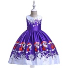Wholesale High quality Cosplay Girls Christmas Halloween Dress for girls