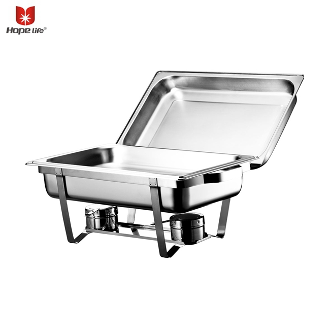 factory direct economic food warmer stainless steel buffet chafing dish for wedding