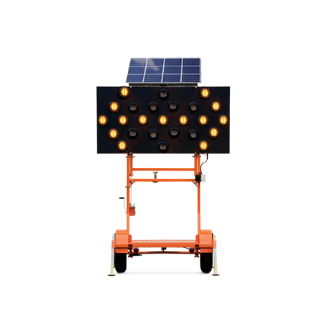 Portable Led Boards Traffic Sign Folding Light for Vehicle Flashing Truck Mounted Foldable Arrow Board