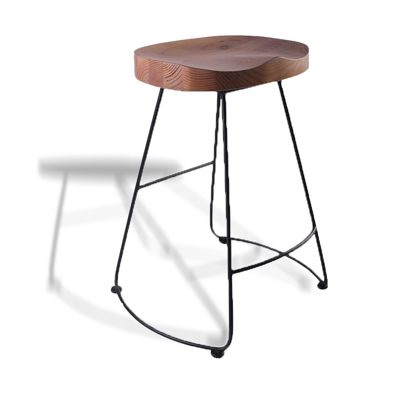 American Village Montgomery Industrial Table And Bar stool