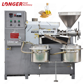 Automatic Oil Press Machine|Automatic Oil Presser for Peanut/Soybean/Sesame/Palm/Rapeseed/Olive